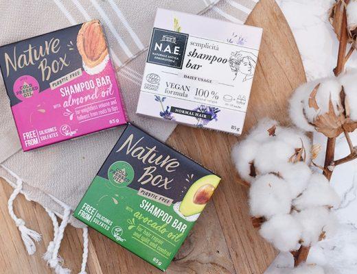 Nature Box & N.A.E. Shampoo Bar