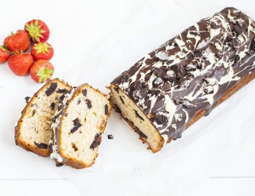 Recept: cake met Oreo en banaan