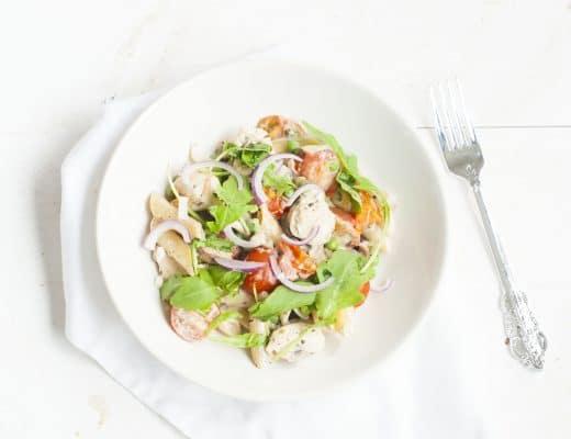 Recept: Pasta Boursin met Kip