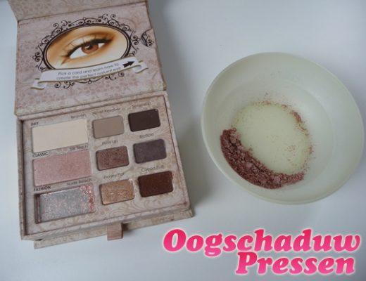 Oogschaduw Pressen – Oogschaduw repareren