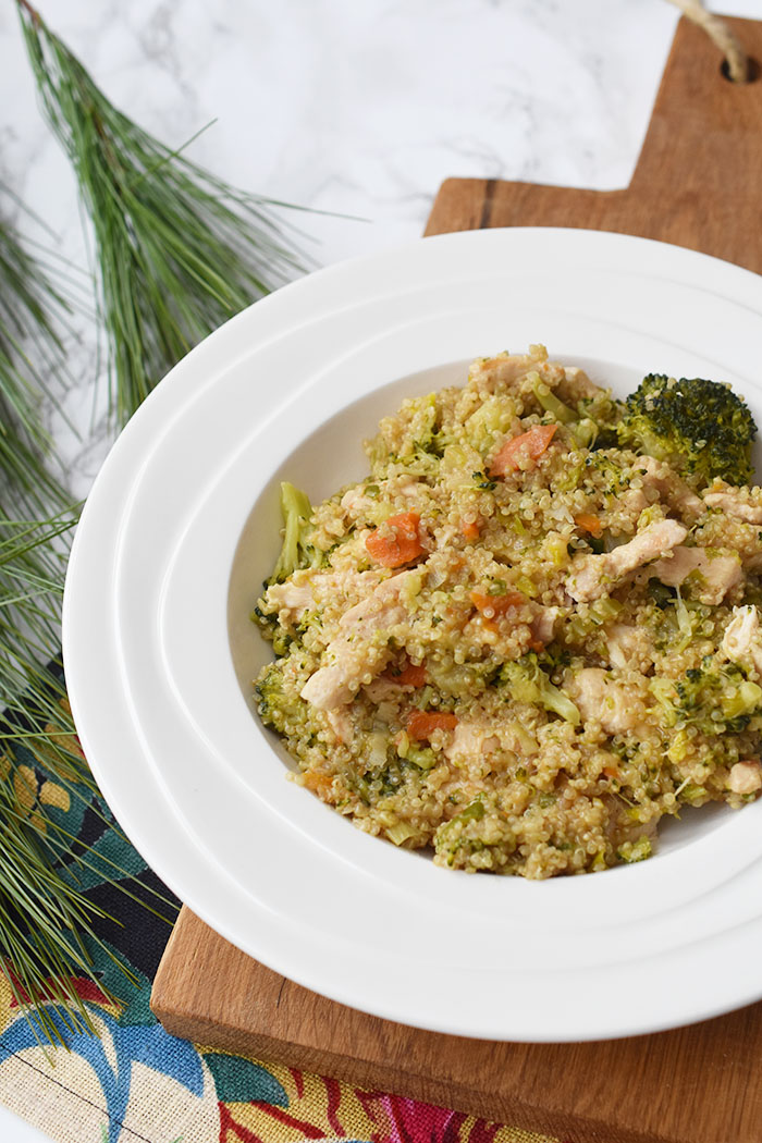 Recept: Quinoa met kip en broccoli