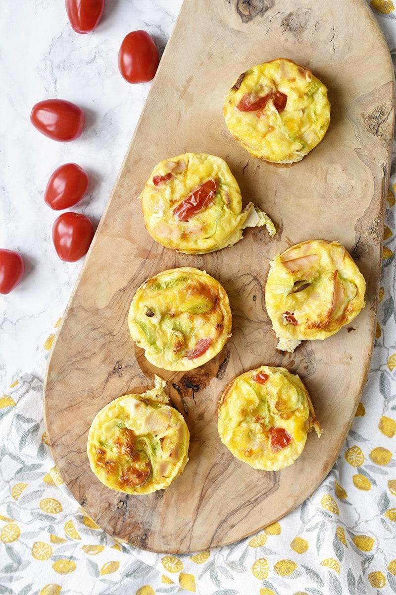 Recept: Gezonde ei muffins met groente