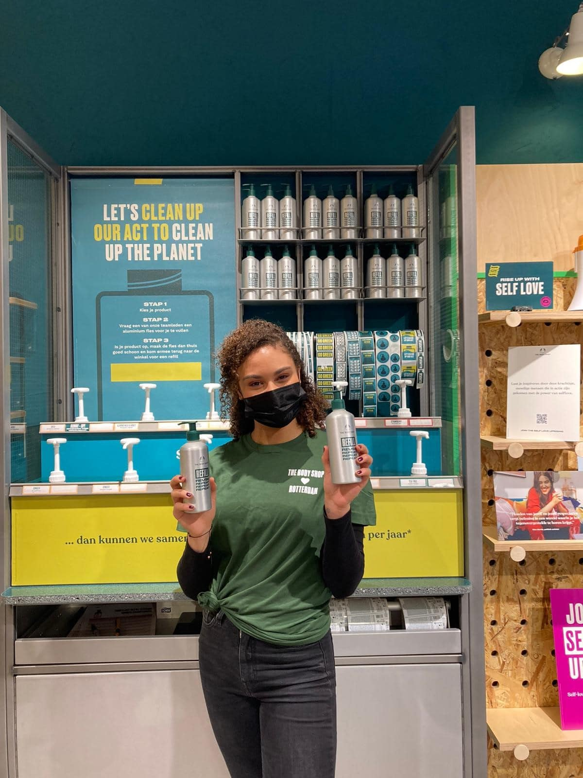 The Body Shop introduceert Refill Stations
