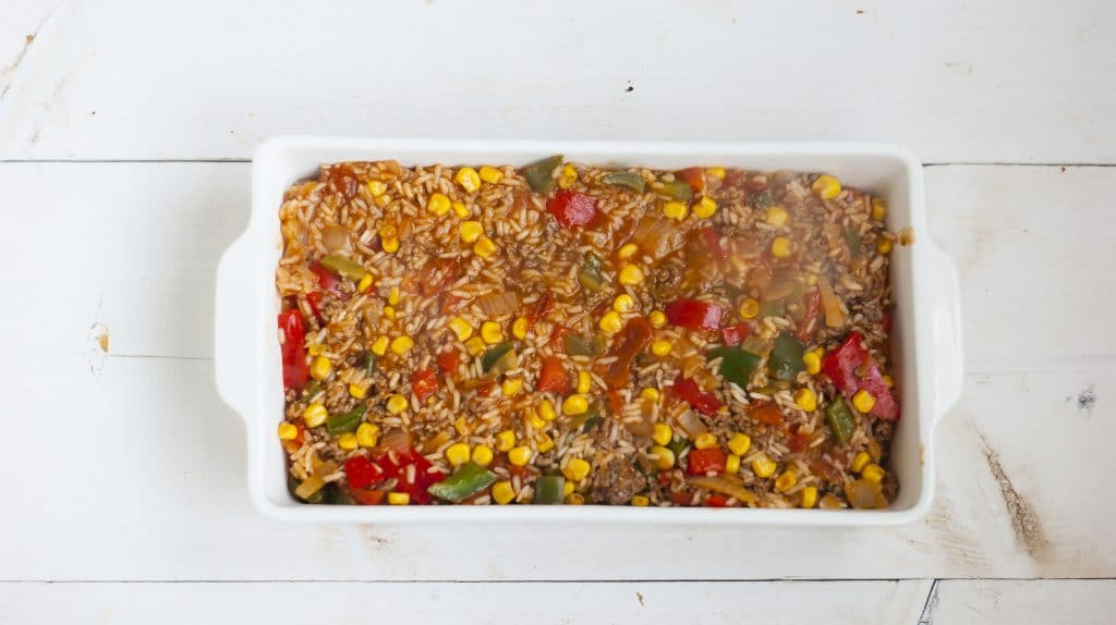 Recept: Mexicaanse rijstovenschotel