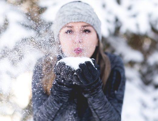 De verzorging van een droge huid in de winter