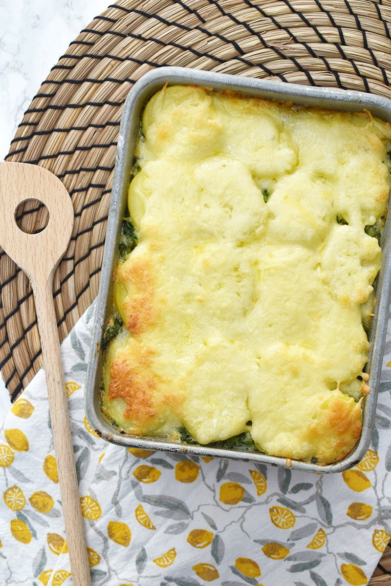 Recept: spinazie ovenschotel met gehakt