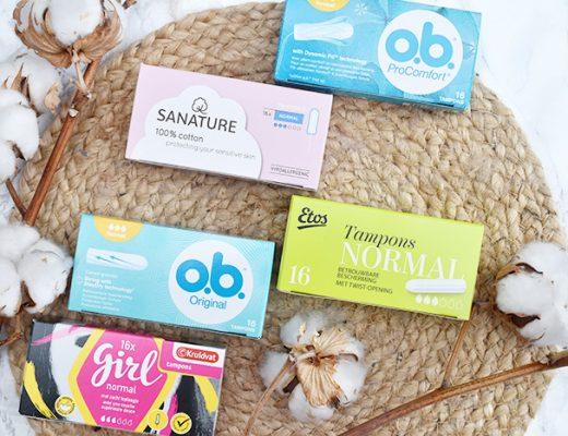De tampon test – welke tampon is het beste?