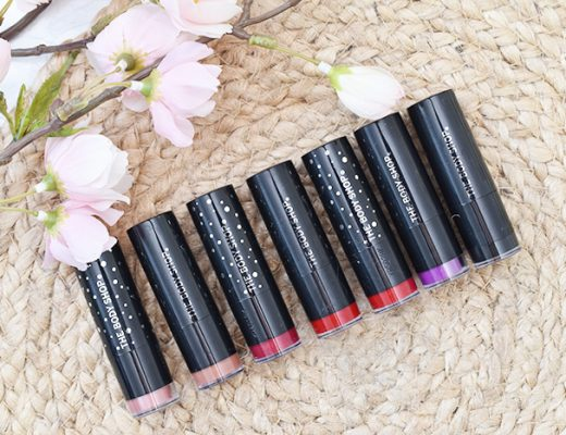 The Body Shop Colour Crush (Glitter) Lipstick