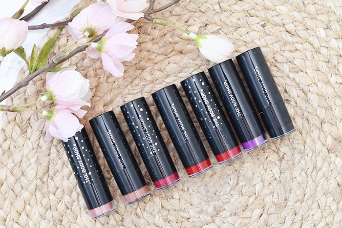 The Body Shop Colour Crush (Glitter) Lipstick