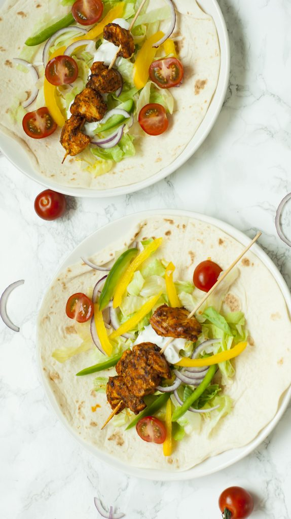 Recept: Tzatziki Wraps