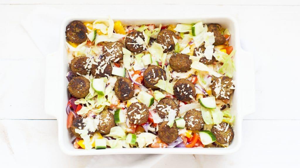 Recept: Vega Kapsalon met Falafel